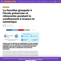 La fonction groupale à l'école préservée et réinventée pendant le confinement à travers le numérique – Ludomag.com