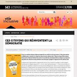 Ville inclusive - Ces citoyens qui réinventent la démocratie