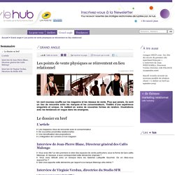"""Relation aux marques, """"Les points de vente physiques se réinventent en lieu relationnel"""", Introduction - La Poste - Le hub - Le média de la Performance Client - /le hub de La Poste, tendances du marketing relationnel"""