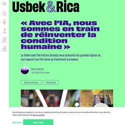1-Usbek & Rica - « Avec l'IA, nous sommes en train de réinventer la condition humaine »
