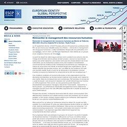 Réinventer le management des ressources humaines