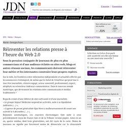 Réinventer les relations presse à l'heure du Web 2.0