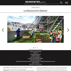 Réinventer.Paris - La ressourcerie Ordener