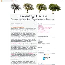 Reinventing Business: The Successor to Facebook