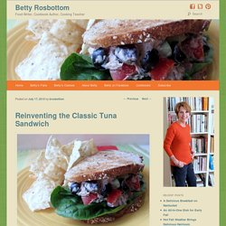 Reinventing the Classic Tuna Sandwich