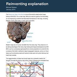 Reinventing Explanation
