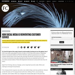 How Social Media Is Reinventing Customer Service | Fast Company | Business + Innovation