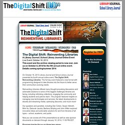 The Digital Shift: Reinventing Libraries