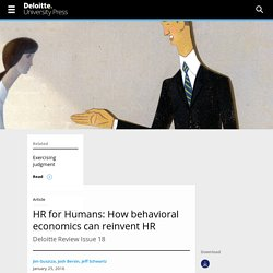 Reinventing management with evidence-based HR