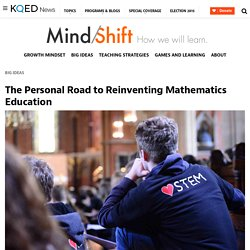 The Personal Road to Reinventing Mathematics Education