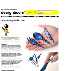 bic pen - reinventing the most popular ballpoint - StumbleUpon