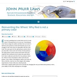 Reinventing the Wheel: Why Red is not a primary color