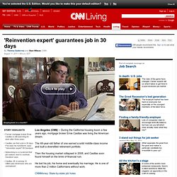 'Reinvention expert' guarantees job in 30 days