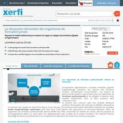 Etude de marché reinvention organisme formation prive Xerfi