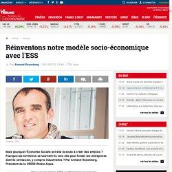 Réinventons notre modèle socio-économique avec l'ESS