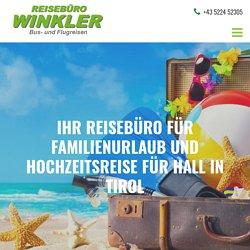 Reisebüro für Familienurlaub für Hall in Tirol