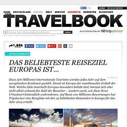 Traveller's Choice Awards 2015: Die 25 besten Reiseziele in Europa