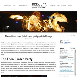 Alternatieven voor de full moon party op Koh Phangan