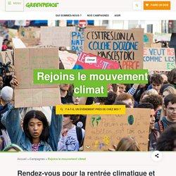 Rejoins le mouvement climat