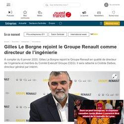 Gilles Le Borgne rejoint le Groupe Renault comme directeur de l'ingénierie