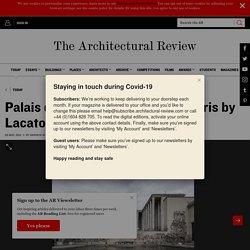 Palais de Tokyo rejuvenated in Paris by Lacaton & Vassal