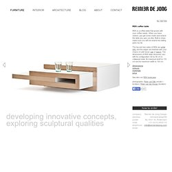REK coffee table « Reinier de Jong