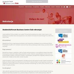 Rekrutacja » Studenckie Forum Bussines Centre Club - Region Kraków