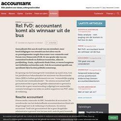 Rel FvD: accountant komt als winnaar uit de bus
