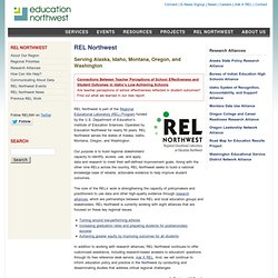 REL Northwest | Education Northwest