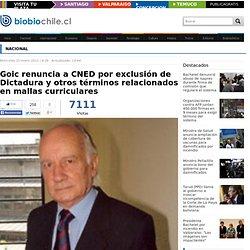 Goic renuncia a CNED por exclusión de Dictadura y otros términos relacionados en mallas curriculares