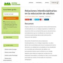 Relaciones interdisciplinarias en la educación de adultos