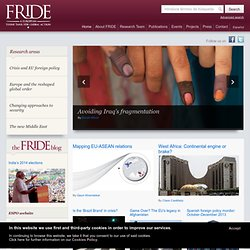 Fundación para las Relaciones Internacionales y el Diálogo Exterior - Homepage