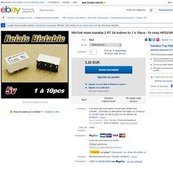 994 5V Relais Bistable 2 RT 2A Bobine 5V 1 À 10pcs 5V Relay HFD2 005 S L2 D