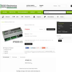 web relais board ethernet IPX800 v3