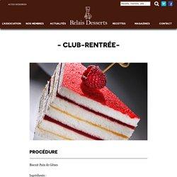 CLUB-RENTRÉE