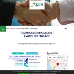 Relance économique : L'Agglo s'engage - 2020