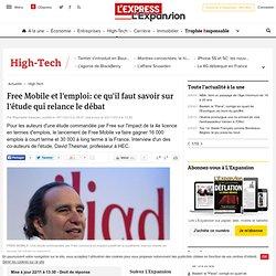 Free Mobile: un effet positif sur l'emploi, mais pas dans les télécoms