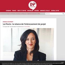 Loi Pacte : la relance de l'intéressement de projet
