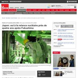 Japon: oui à la relance nucléaire près de quatre ans après Fukushima