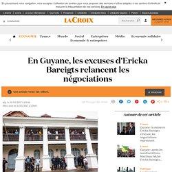 En Guyane, les excuses d'Ericka Bareigts relancent les négociations - La Croix