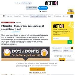 Relancer avec succès clients et prospects par e-mail