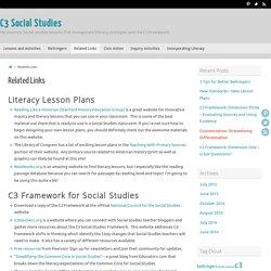 Related Links – C3 Social Studies