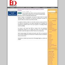 Sidel fait valoir aux Etats-Unis ses droits relatifs à un brevet innovant - Toute l'information sur l'Emballage