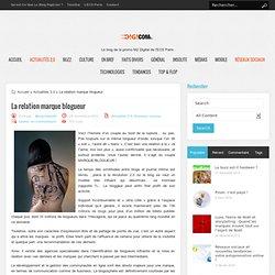 La relation marque blogueur