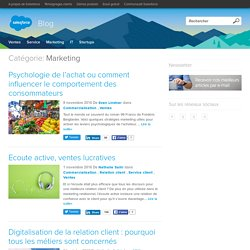 Le blog de la relation client et du cloud computing - Salesforce Blog France