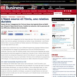 L'Open source et l'Inria une relation durable via