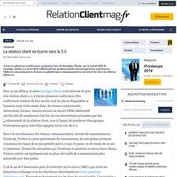 La relation client se tourne vers le 2.0 - relationclientmag.fr