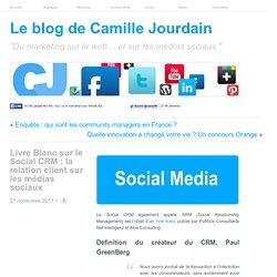 Livre Blanc sur le Social CRM : la relation client sur les médias sociaux