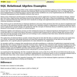 sql dbms pearltrees