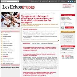 Management relationnel : développer les compétences et l'efficacité relationnelles des managers